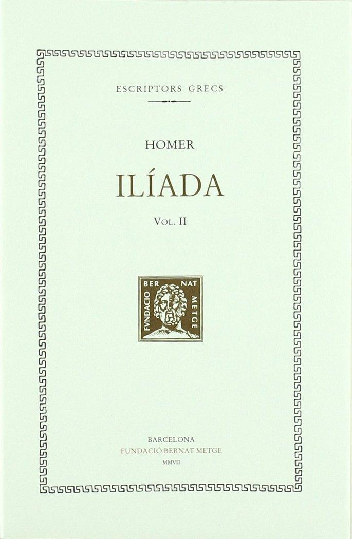 Iliada vol ii - cat