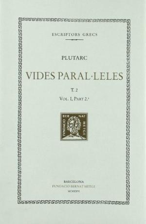 Vides paralÚleles, vol. ii: solo i publicola. temistocles i