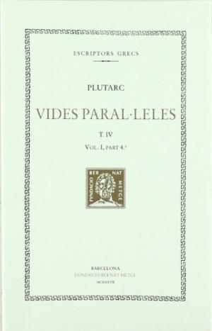 Vides paralÚleles, vol. iv: pericles i fabi maxim. nicias cr