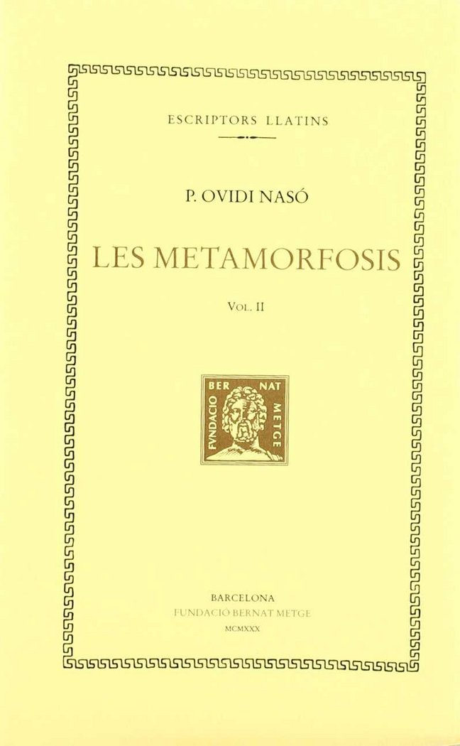 Metamorfosis,les  vol ii