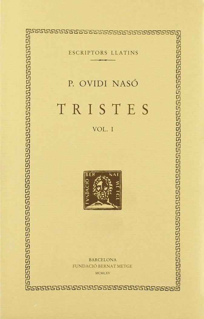 Tristes - vol i - llibres i-ii