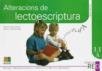Alteracions de lectoescriptura 1