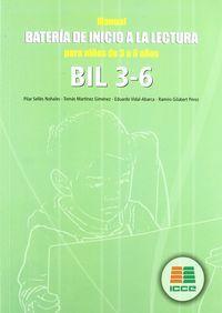 Bil 3-6 bateria inicio lectura para niños de 3 a 6 años