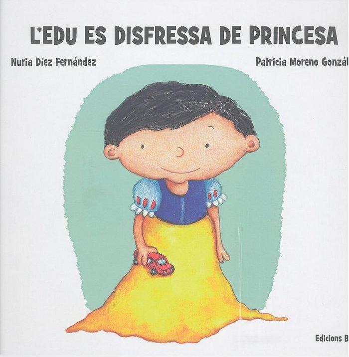 L´edu es disfressa de princesa ( catalan )