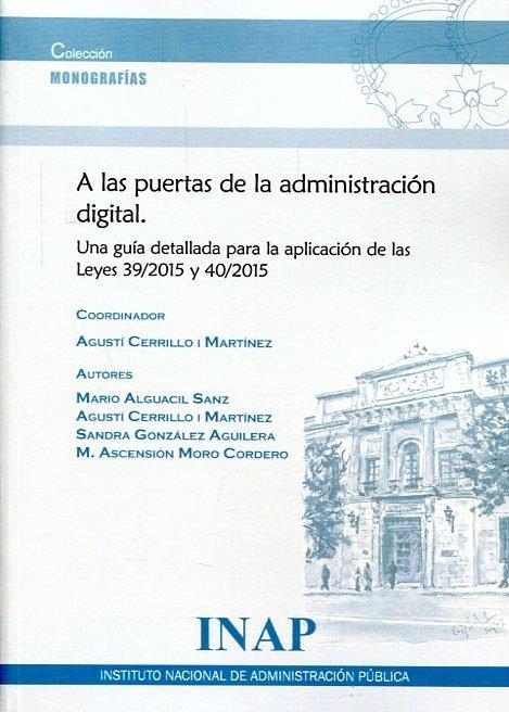 A las puertas de la administracion digital