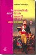 Provincia de cordoba durante el reinado de fernando vii (180