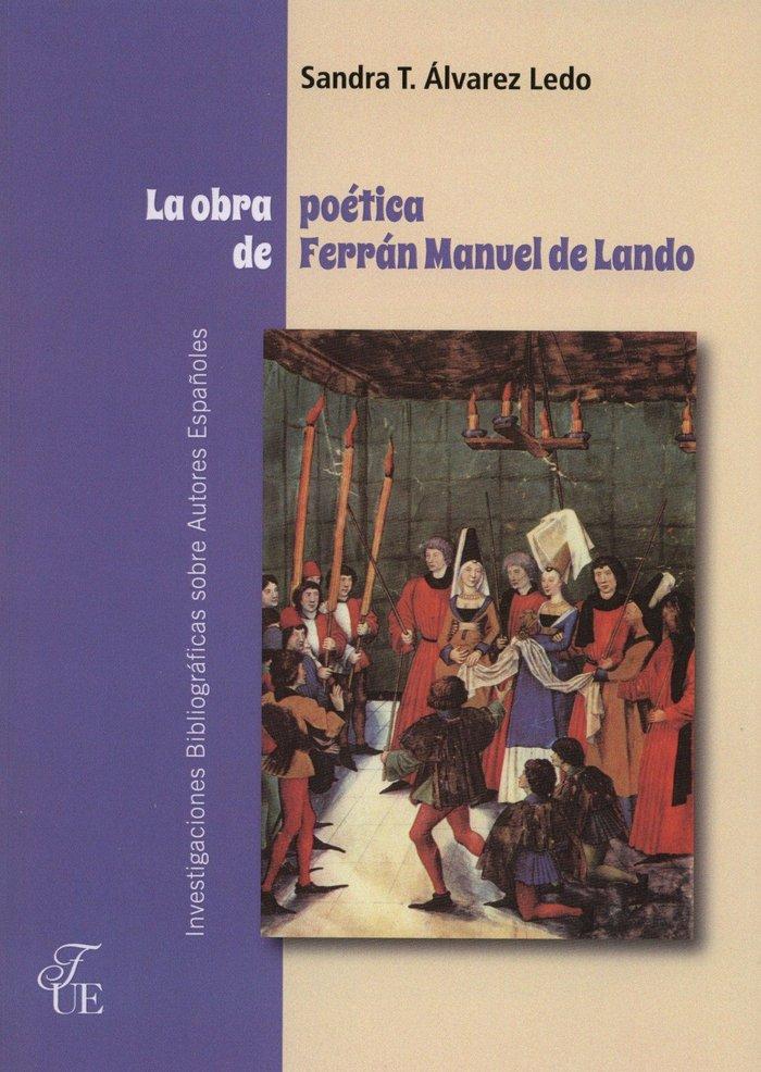 Obra poetica de ferran manuel de lando,la