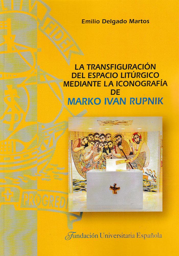Transfiguracion del espacio liturgico mediante la iconografi