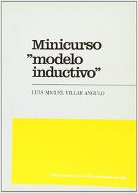 Minicurso:modelo inductivo