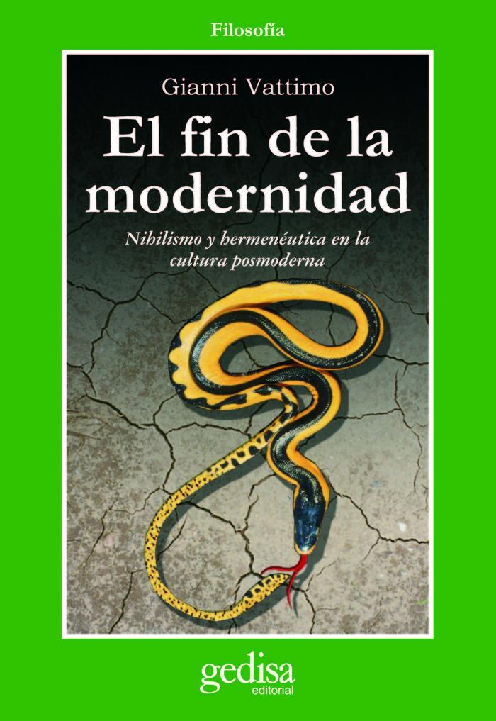 Fin de la modernidad,el