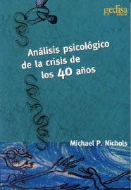 Analisis psicologico de crisis 40 años