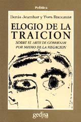 Elogio de la traicion