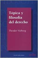 Topica y filosofia del derec