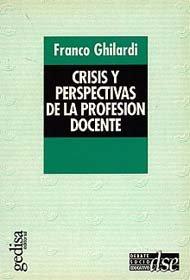 Crisis y perspectivas profesion docente