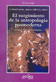 Surgimiento antropologia posmoderna,el