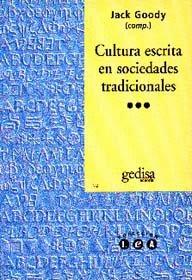 Cultura escrita en sociedades