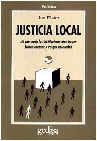 Justicia local