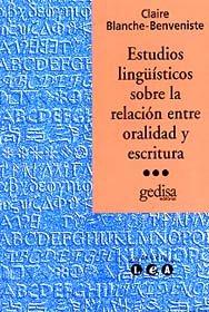 Estudios lin.sobre relacion oralidad escritura