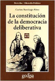 Constitucion democracia deliberativa