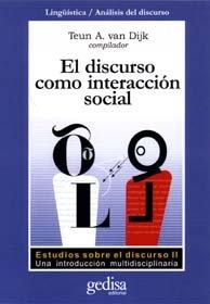 Discurso como interaccion social