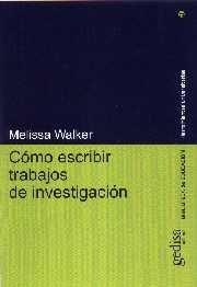 Como escribir trabajos investigacion
