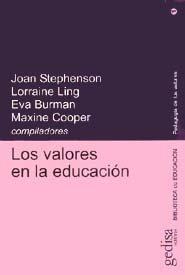 Valores en la educacion los