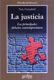 Justicia principales debates contemporaneos