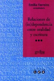 Relaciones de independencia entre oralidad