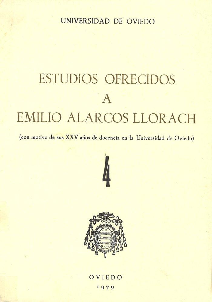 Estudios ofrecidos a emilio alarcos llorach tomo iv