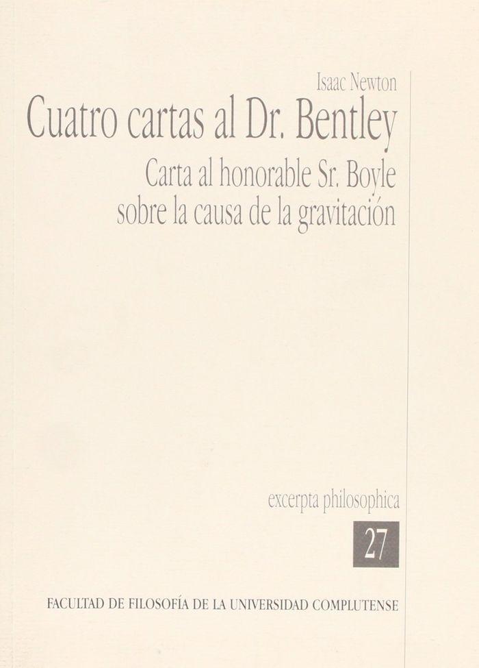 Cuatro cartas al dr. bentley