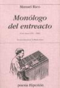 Monologo del entreacto