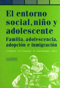 Entorno social niño y adolescente