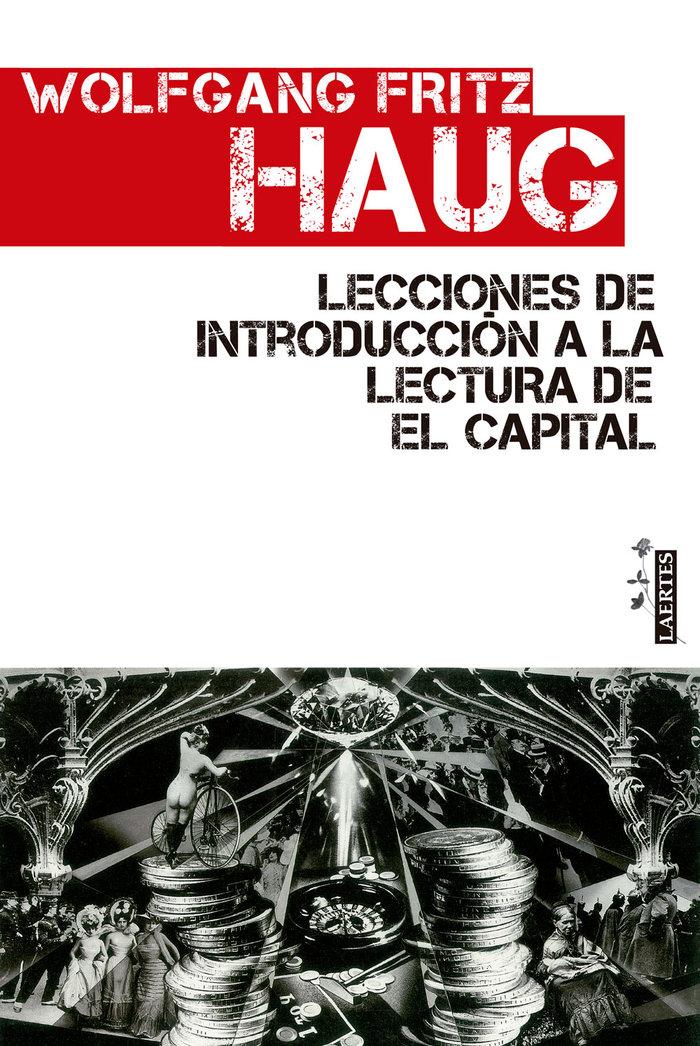 Lecciones de introduccion lectura de el capital