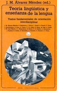 Teoria linguistica y enseñaza lengua