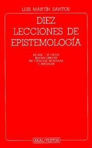 Diez lecciones epistemologia/textos