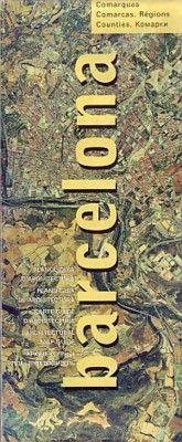 Plano-guia de la arquitectura de barcelona y comarcas