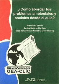 Como abordar problemas ambientales en el aula