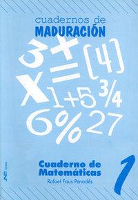 Cuaderno matematicas 1 ne