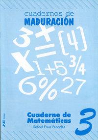 Cuaderno matematicas 3 ne