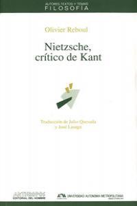 Nietzsche,critico de kant