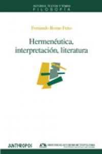 Hermeneutica interpretacion literatura