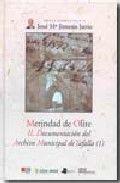 Merindad de olite. ii. documentacion del archivo municipal d