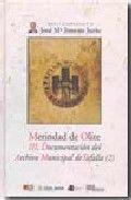Merindad de olite. iii. documentacion del archivo municipal
