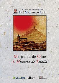 Merindad de olite. i. historia de tafalla