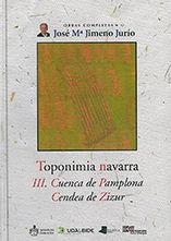 Toponimia navarra. iii. cuenca de pamplona. cendea de zizur