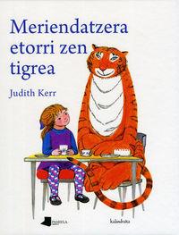 Meriendatzera etorri zen tigrea