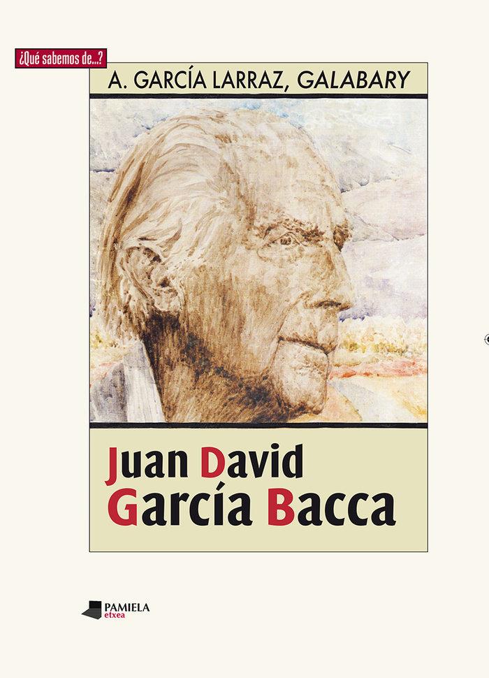 Juan david garcia bacca
