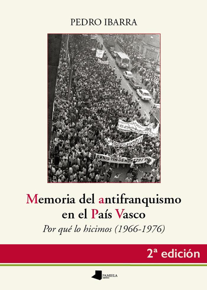 Memoria del antifranquismo en el pais vasco
