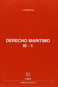 Derecho maritimo.  tomo iii. 3 vols.