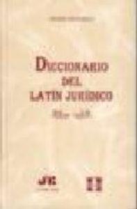 Diccionario del latin juridico.